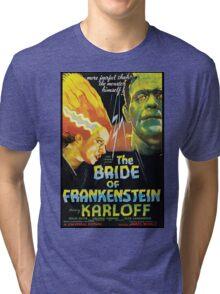 The Bride Of Frankenstein Tri-blend T-Shirt