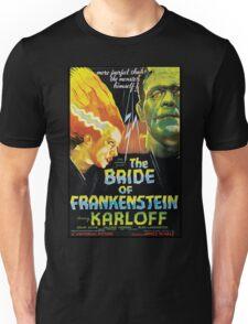 The Bride Of Frankenstein Unisex T-Shirt
