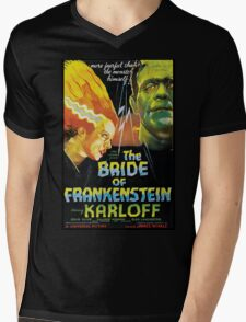 The Bride Of Frankenstein Mens V-Neck T-Shirt