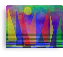Sunshine And Sailing Canvas Print