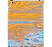 Electric ocean iPad Case/Skin