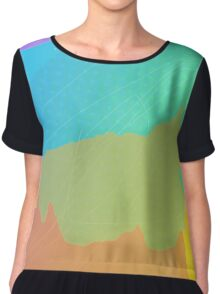 Absentminded Dreaming Chiffon Top
