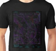 USGS TOPO Map Alabama AL Elmore 303749 1987 24000 Inverted Unisex T-Shirt