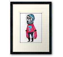 Space Kid Framed Print