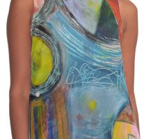 Pieces Of Color Contrast Tank