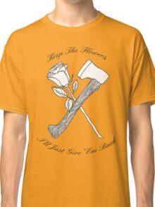 Foxy Shazam Axe And Flowers Classic T-Shirt
