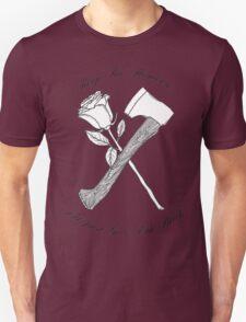 Foxy Shazam Axe And Flowers Unisex T-Shirt