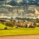 Mk1 Spitfires by Nigel Bangert