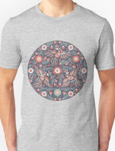 Mexican floral pattern Unisex T-Shirt