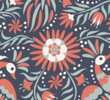 Mexican floral pattern Sticker
