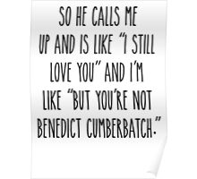 But you're not Benedict Cumberbatch - Light Version Poster