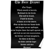 The Beer Prayer Poster
