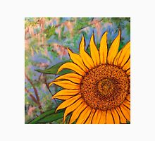 Sunny Beanstalks sunflower closeup Unisex T-Shirt