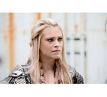 The 100 - Clarke Griffin (3x14) Print Photographic Print