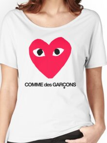 CDG Red Women's Relaxed Fit T-Shirt