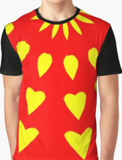 Hearts And Petals Graphic T-Shirt