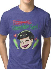 CHOROMATSU GIRL Tri-blend T-Shirt