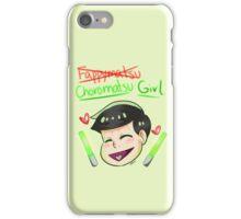 CHOROMATSU GIRL iPhone Case/Skin