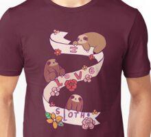 I Love Sloths Unisex T-Shirt
