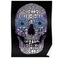 Skull Art - Day Of The Dead 2 Stone Rock'd Poster