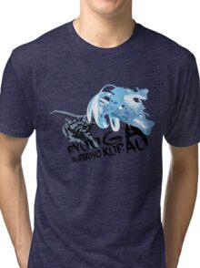 RYUUGA WAGATEKIWO KURAU Tri-blend T-Shirt