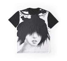 Inky Head Graphic T-Shirt