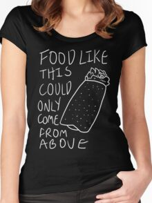Taco Bell Saga 2 (White) Women's Fitted Scoop T-Shirt