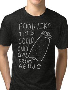 Taco Bell Saga 2 (White) Tri-blend T-Shirt
