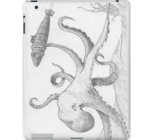 Octopus Attacks Submarine iPad Case/Skin