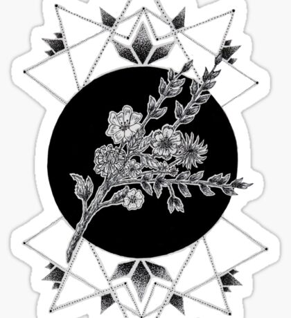 Geometric Garden Sticker