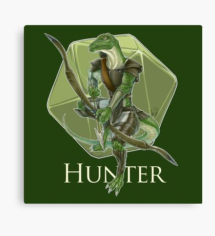 Dungeons And Dragons Hunter Canvas Print