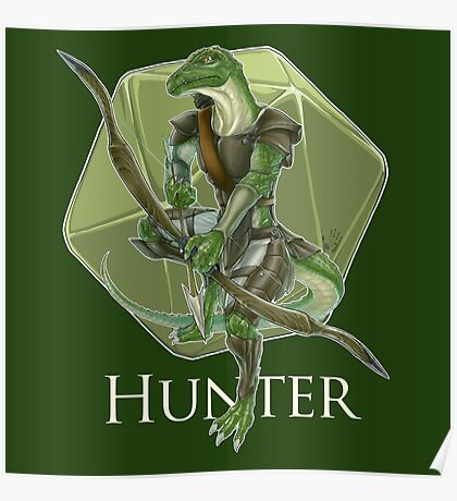 Dungeons And Dragons Hunter Poster
