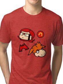Omega Ruby Tri-blend T-Shirt