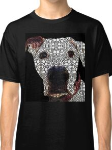 Stone Rock'd Dog 2 by Sharon Cummings Classic T-Shirt
