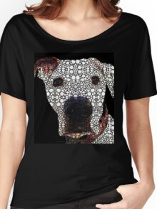 Stone Rock'd Dog 2 by Sharon Cummings Women's Relaxed Fit T-Shirt