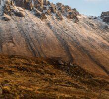 Mountain of Stac Pollaidh Sticker
