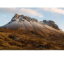 Mountain of Stac Pollaidh Photographic Print