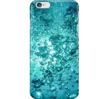 Bubbles Under the Sea iPhone Case/Skin