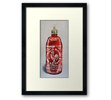 Hot Sauce Framed Print