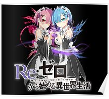 rem and ram Poster