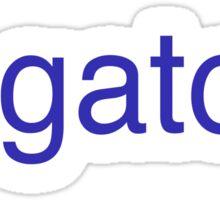 Go Gators Sticker