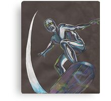 The Silver Surfer Canvas Print