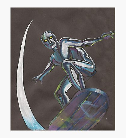 The Silver Surfer Photographic Print