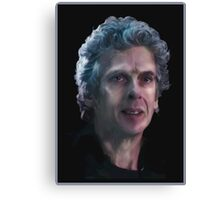 The Twelfth Doctor, Doctor Who Canvas Print