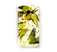 Carolina Parakeet Samsung Galaxy Case/Skin