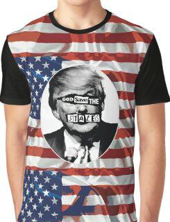 God Save The States (Donald Trump) Graphic T-Shirt