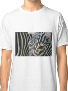 abstract in black white and brown Classic T-Shirt