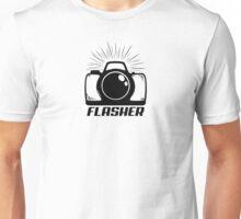 Camera Flasher Unisex T-Shirt
