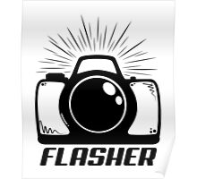 Camera Flasher Poster