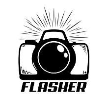 Camera Flasher Photographic Print